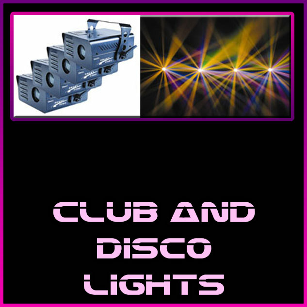 club disco lighting hire ia sound and light lighting sound