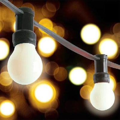 Festoon hire ia sound and light lighting sound - Guirlande lumineuse exterieur leroy merlin ...